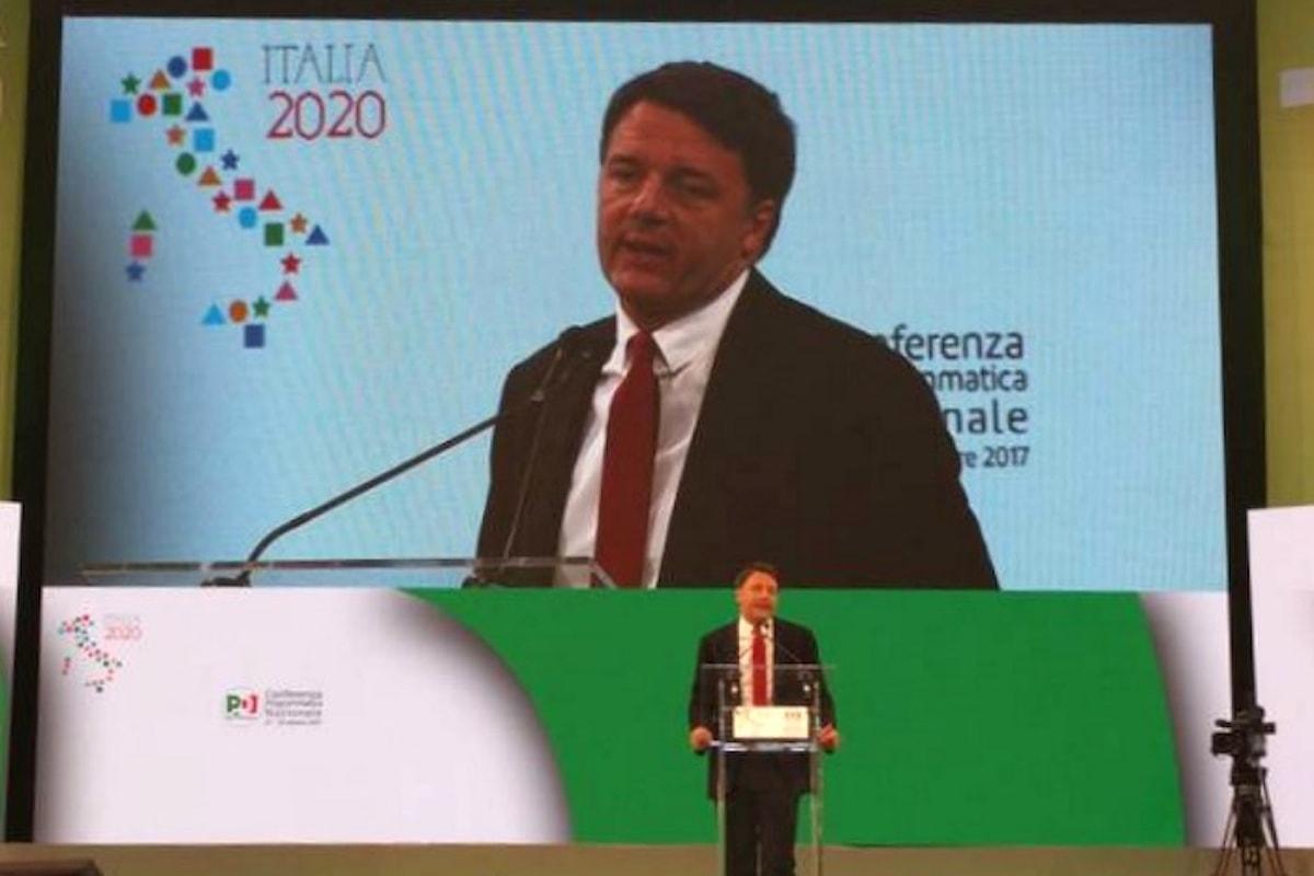 Renzi chiude la Conferenza Programmatica di Napoli aprendo alla sinistra... ma anche al centro!