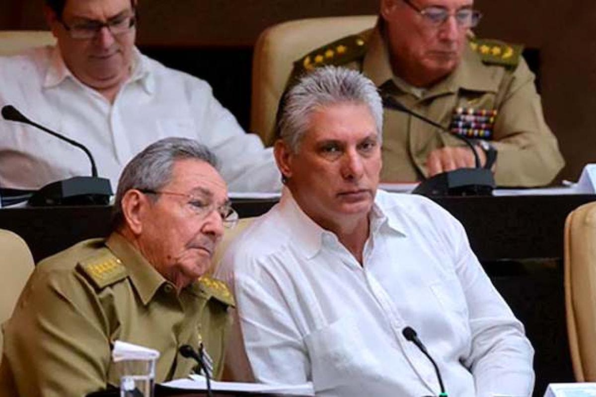 A Cuba finisce l'era Castro. Miguel Diaz-Canel sostituisce Raul alla guida del Paese