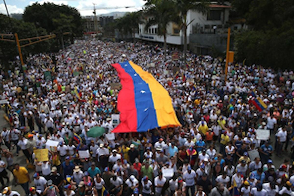La grave situazione del Venezuela