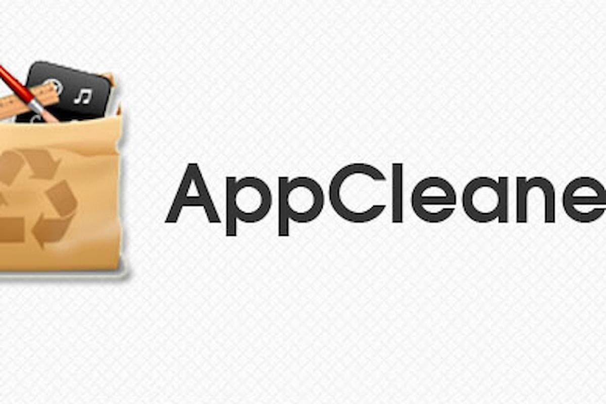 AppCleaner consente di disinstallare applicazioni sul Mac correttamente