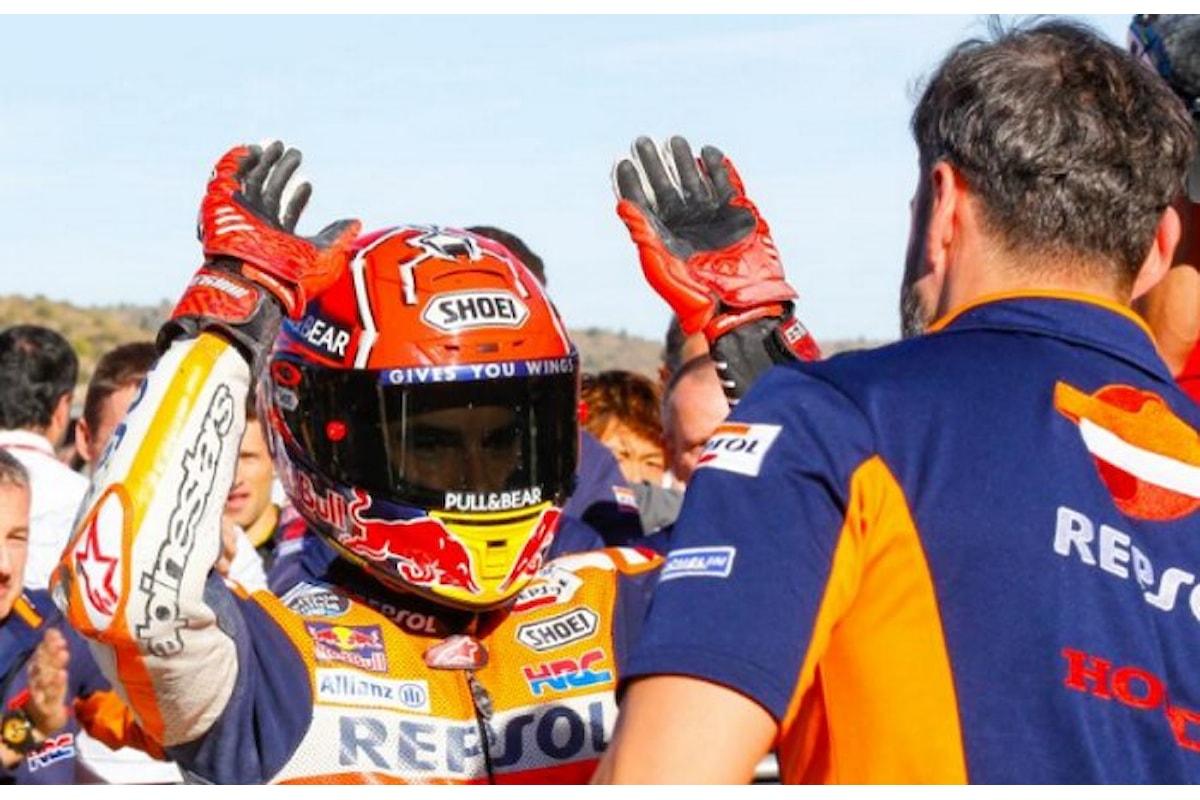 Marquez primo, Dovizioso nono. Così partiranno a Valencia i due sfidanti nel Campionato del Mondo 2017 di MotoGP