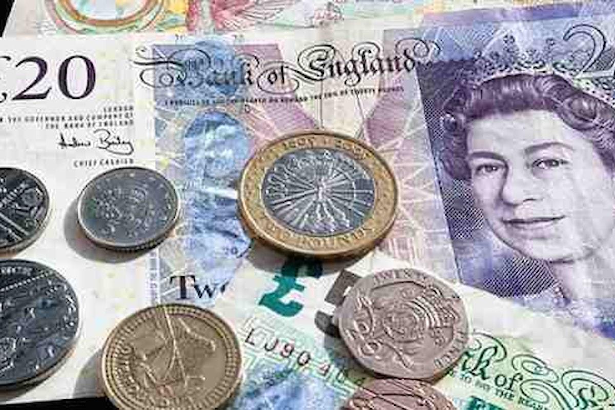 La Brexit continua a farsi sentire sulla quotazione del pound