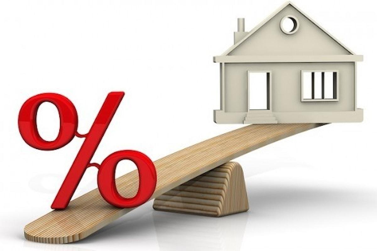 Tassi mutui in calo: vicina un'inversione di tendenza