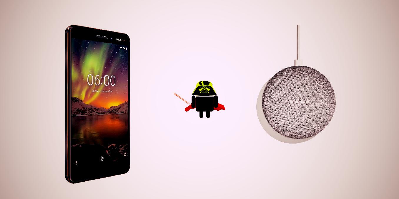 Nokia regalerà un Google Home Mini a tutti quelli che acquisteranno il nuovo Nokia 6.1