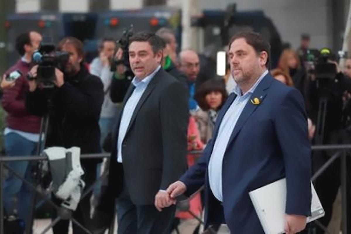 Crisi in Catalogna. Si decide per l'arresto dei membri della Generalitat