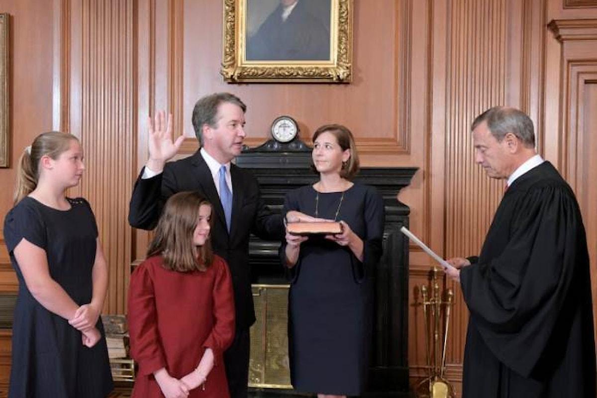Confermata la nomina di Brett Kavanaugh a giudice della Corte Suprema con l'esultanza di Trump