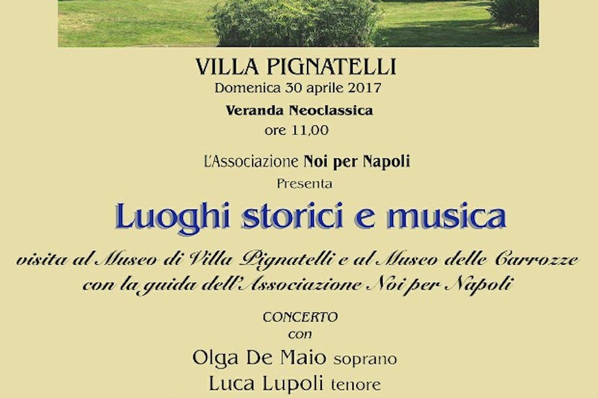 Luoghi Storici e Musica : Villa Pignatelli