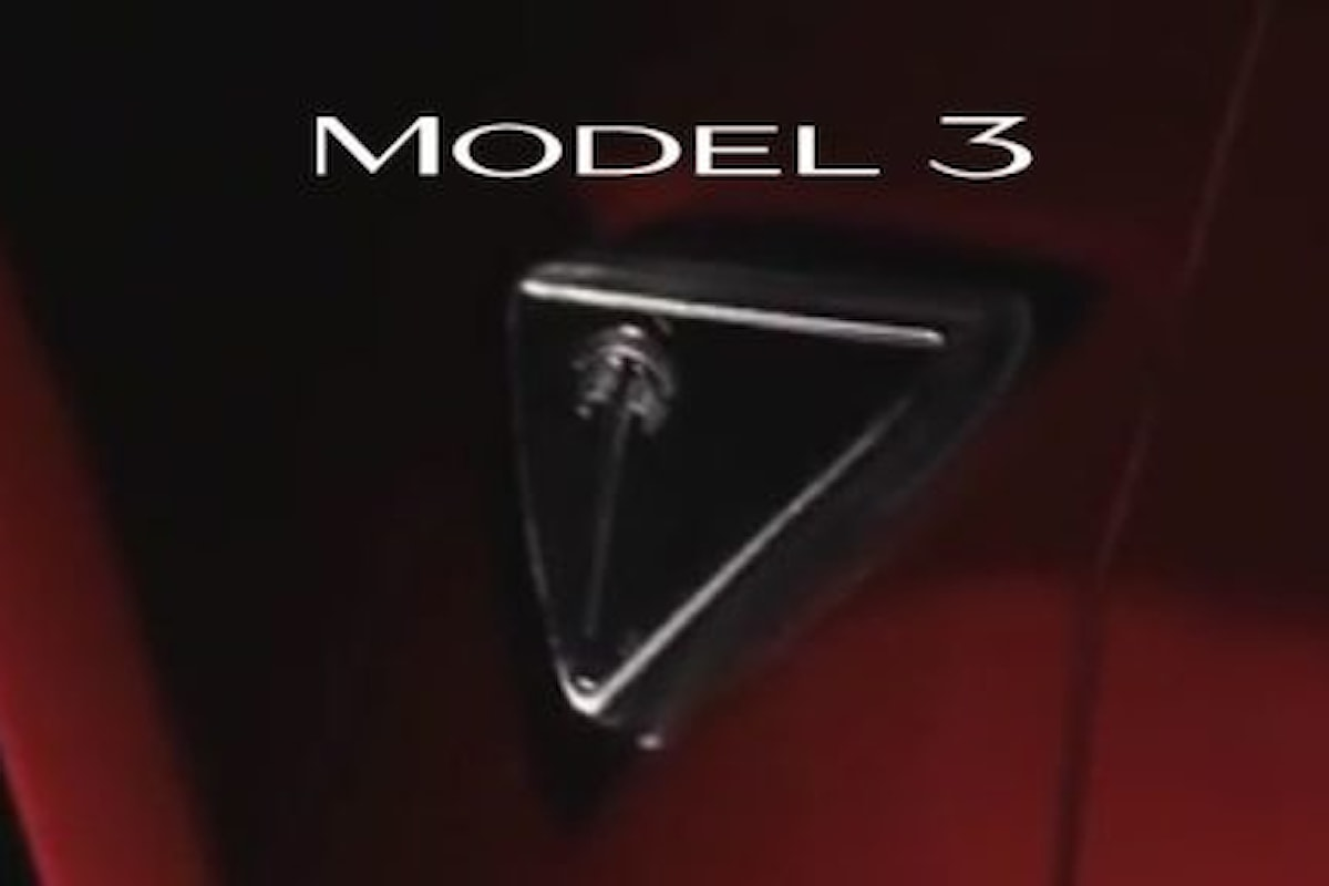 Nuovo logo per la Tesla Model 3!