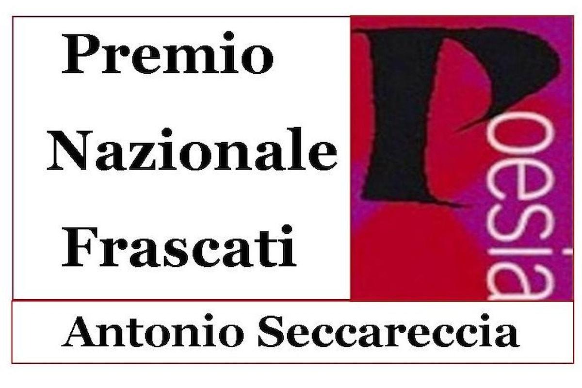 I finalisti della 58.ma edizione del Premio Nazionale Frascati Poesia Antonio Seccareccia