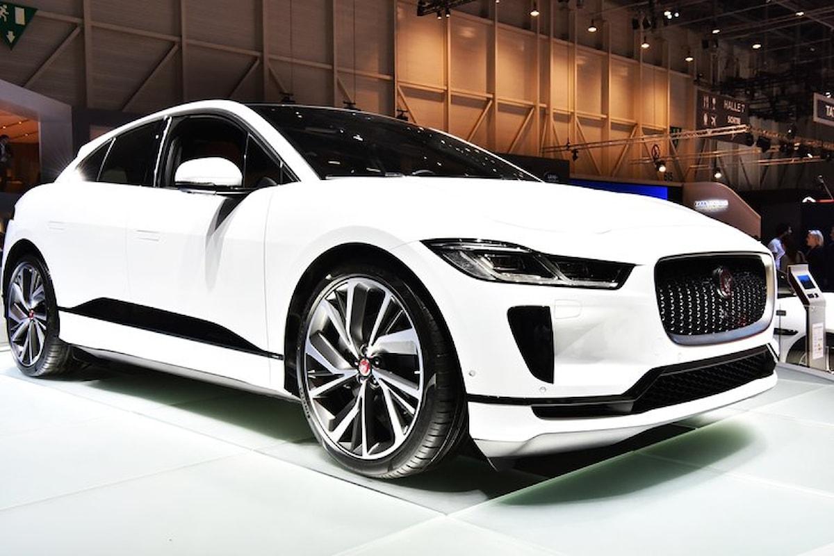 Jaguar I-Pace: range elettrico non eccezionale...