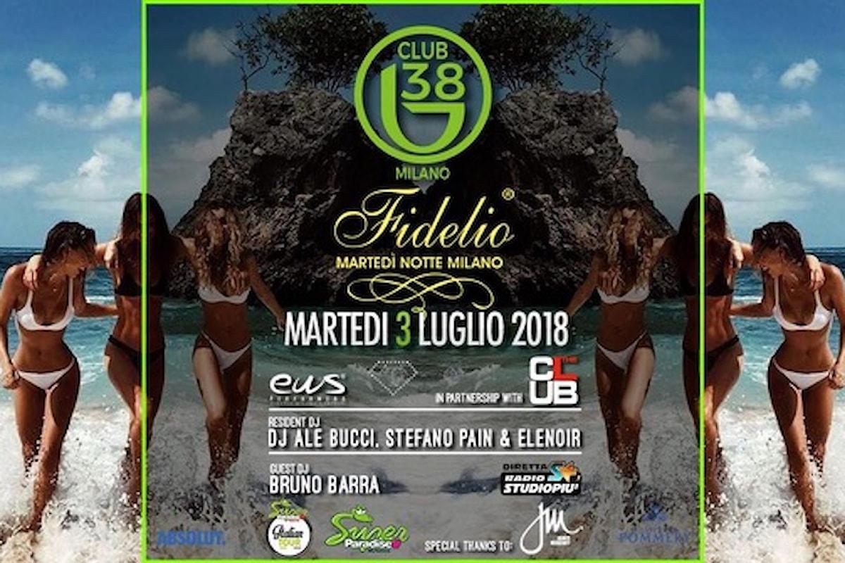 3 luglio, Fidelio Milano al B38 meets Super Paradise Mykonos