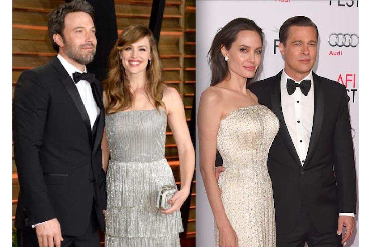 E alla fine Ben Affleck e Jennifer Garner e Angelina Jolie e Brad Pitt riusciranno a divorziare
