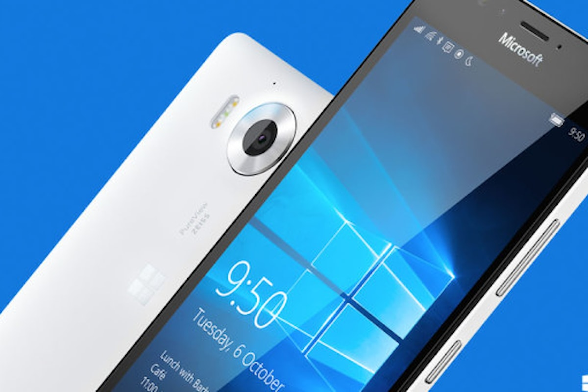Double tap to wake in arrivo su Lumia 950 - Surface Phone Italia