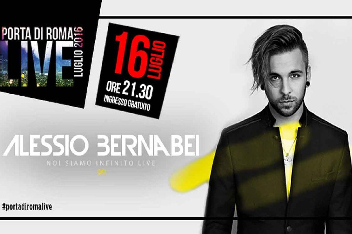 Noi Siamo Infinito Live: Alessio Bernabei a Porta di Roma