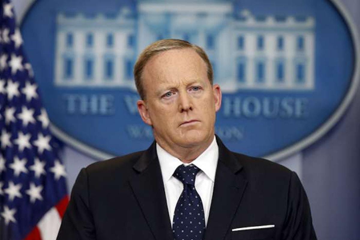Si è dimesso il portavoce della Casa Bianca Sean Spicer