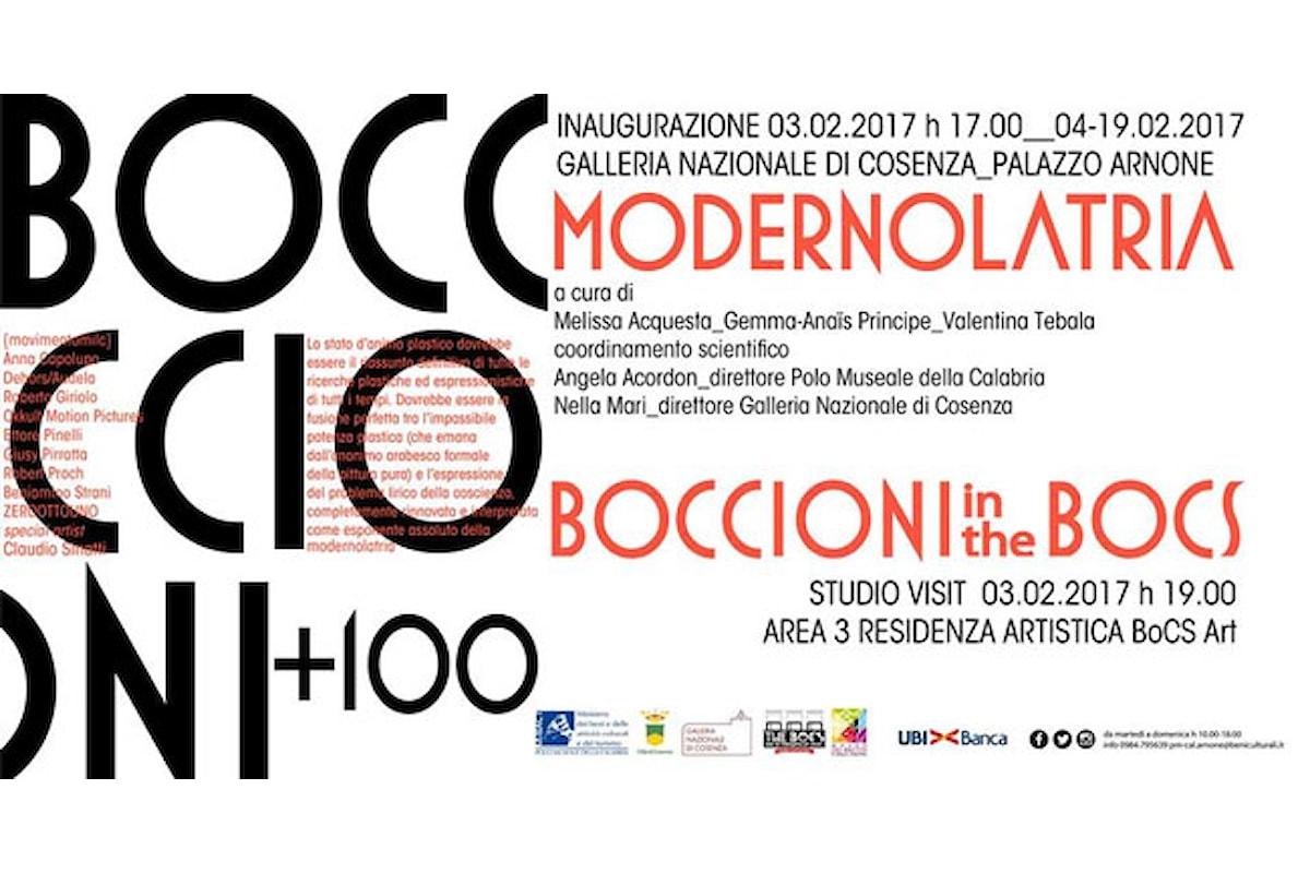 BOCCIONI+100, Cosenza omaggia Umberto Boccioni