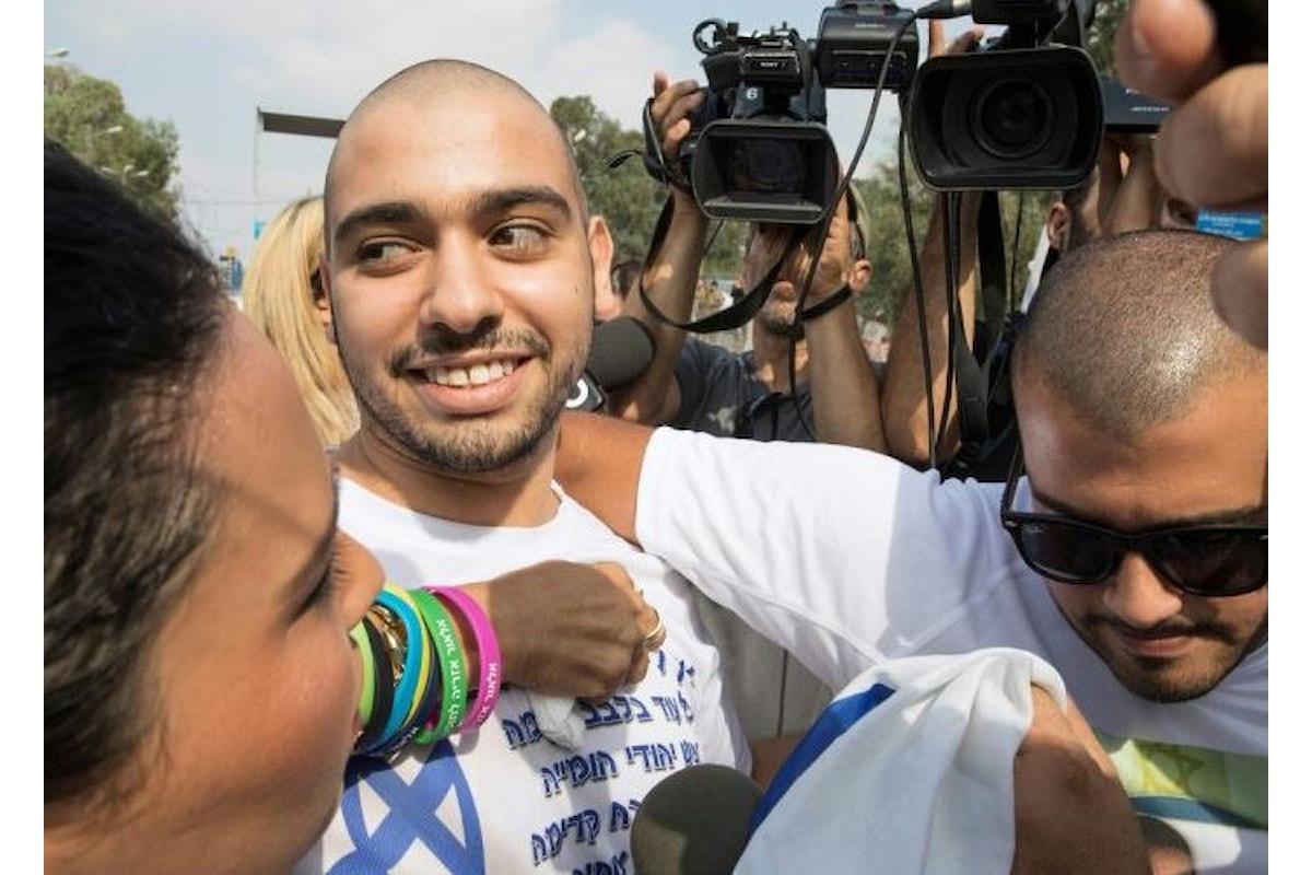 Assassino israeliano liberato dopo 9 mesi di carcere, aveva ucciso un palestinese ferito ed inerme