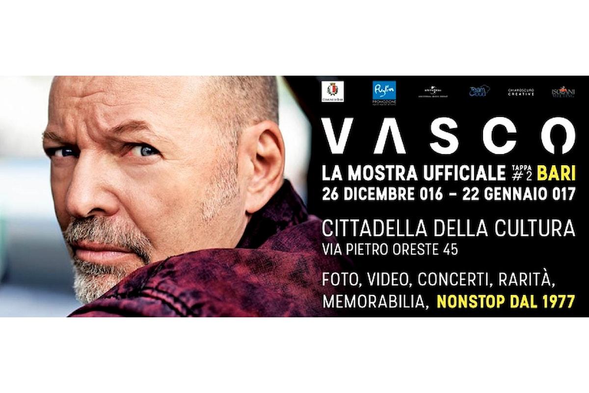 Vasco Rossi è arrivato a Bari, con la mostra esclusiva 'VASCO', ecco le info e biglietti!