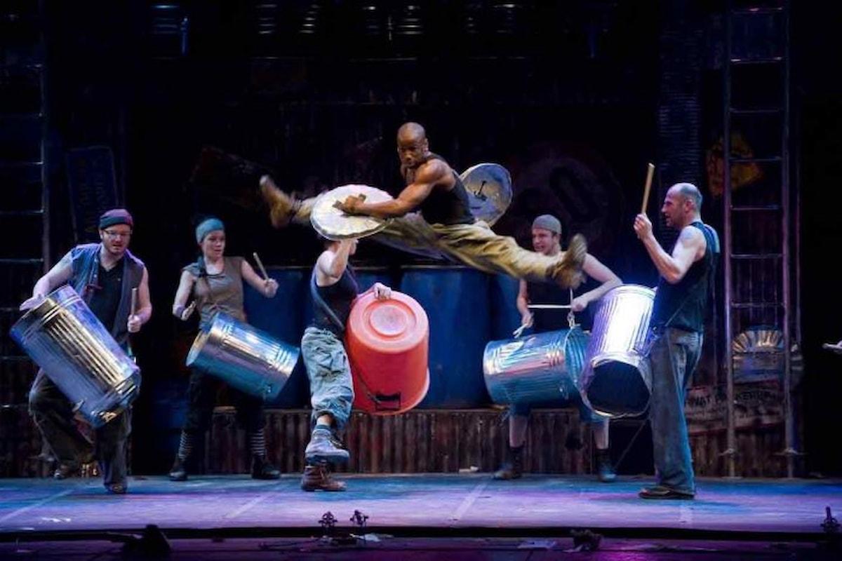 Al Teatro Brancaccio di Roma tornano gli STOMP
