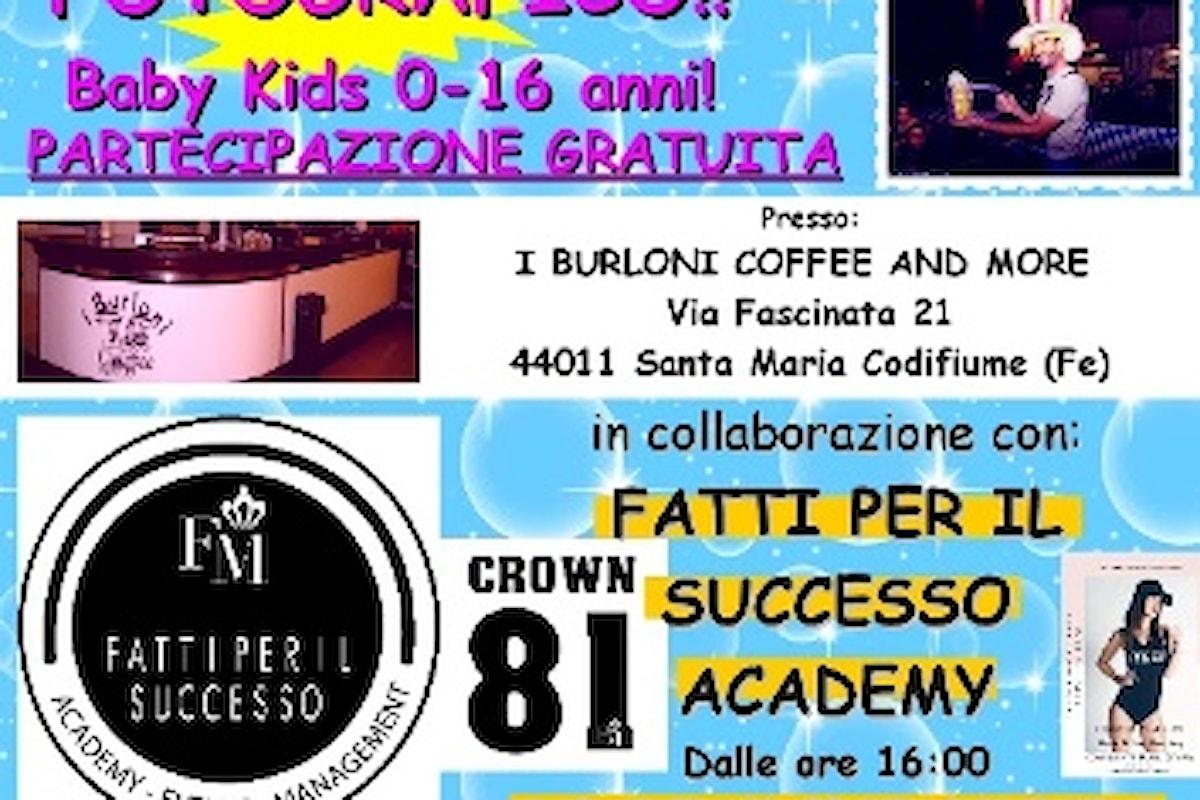 Ferrara, le preselezioni di Kids Talent a Santa Maria Codifiume domenica 29 aprile