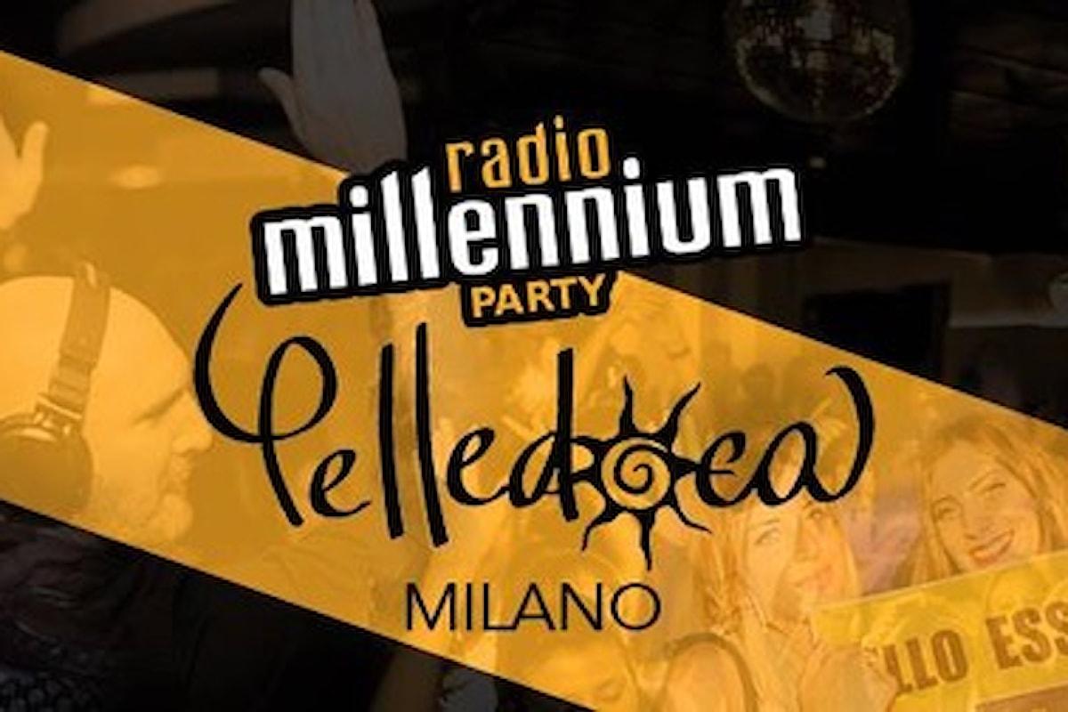 29 settembre, Radio Millennium Party al Pelledoca di Milano