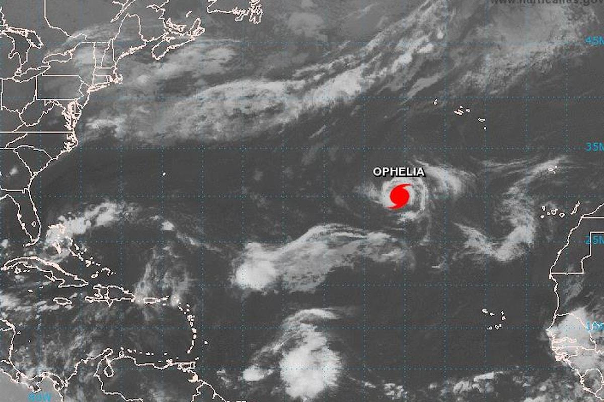 Nuovo uragano nell'Atlantico si dirige verso Irlanda e Gran Bretagna