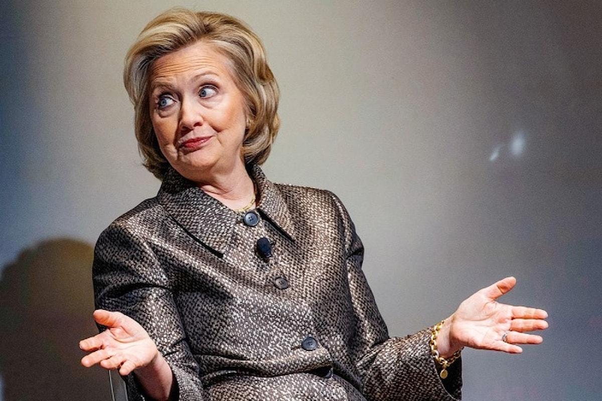 Hillary Clinton: una commozione cerebrale le aveva fatto dimenticare le indicazioni sulla sicurezza delle email