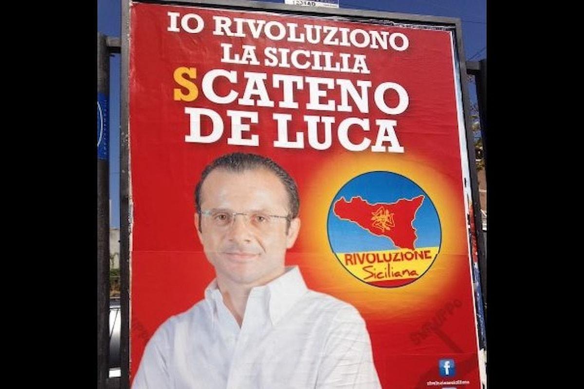 La redenzione della Sicilia auspicata da Musumeci inizia già con l'arresto di un neo eletto del centrodestra, Cateno De Luca (detto Messina)