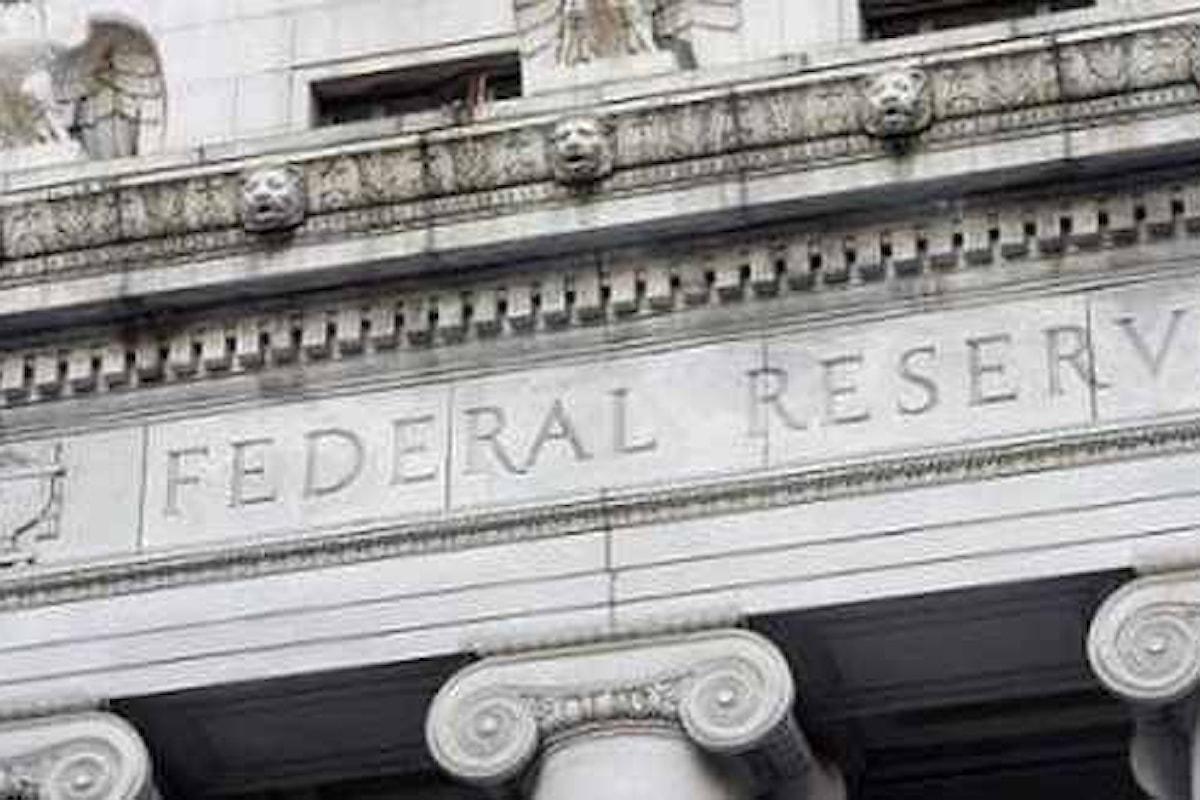 Mercati, attenti a quello che mercoledì dirà la Fed
