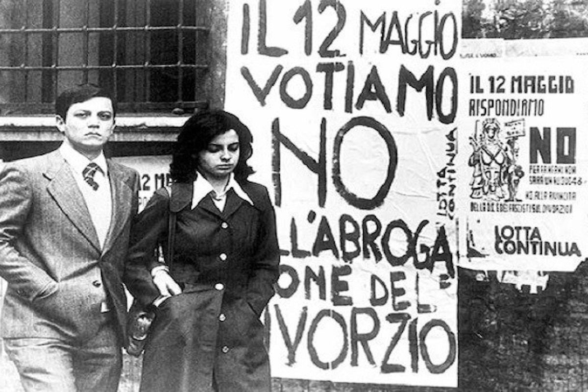 Divorzio: 44 anni fa il referendum
