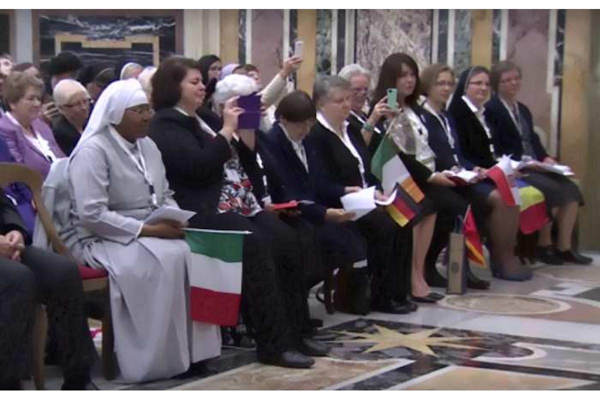 Papa Francesco ha ricevuto i partecipanti all'incontro sulla tratta degli esseri umani promosso dal RENATE