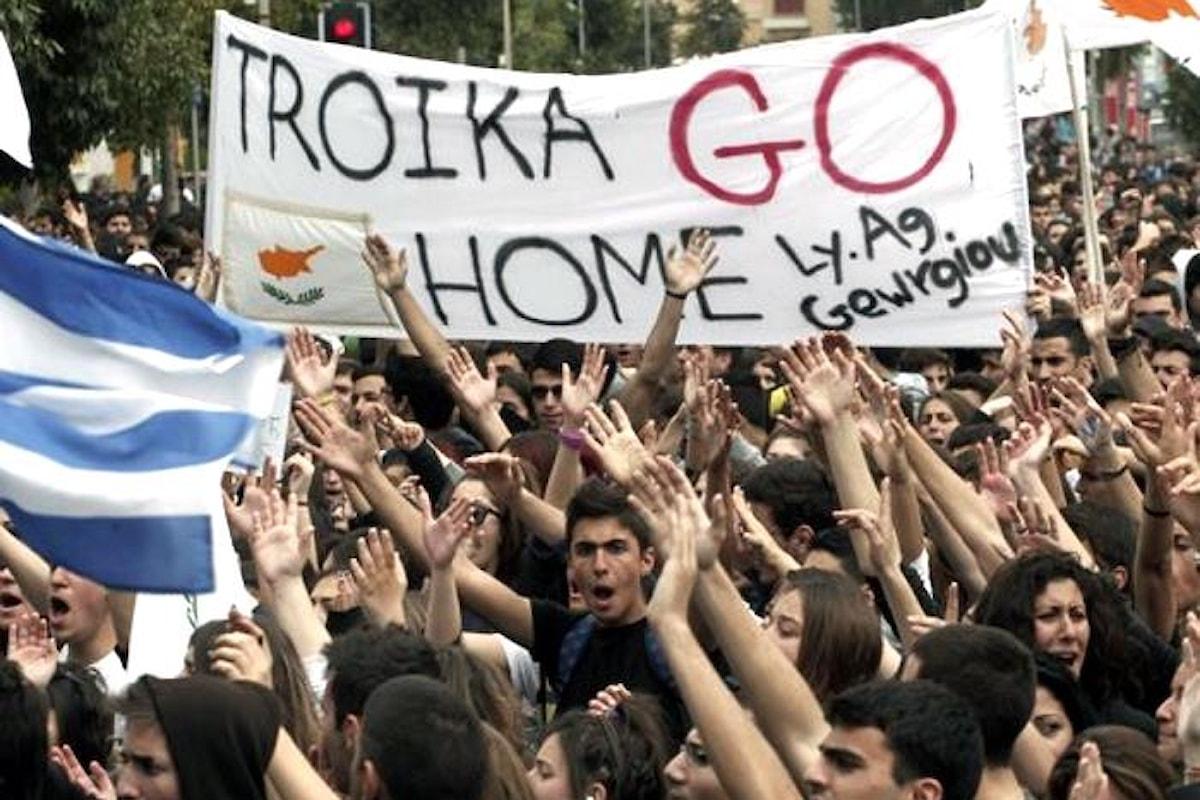 La Troika fa le valigie in Grecia per trasferirsi in Italia?