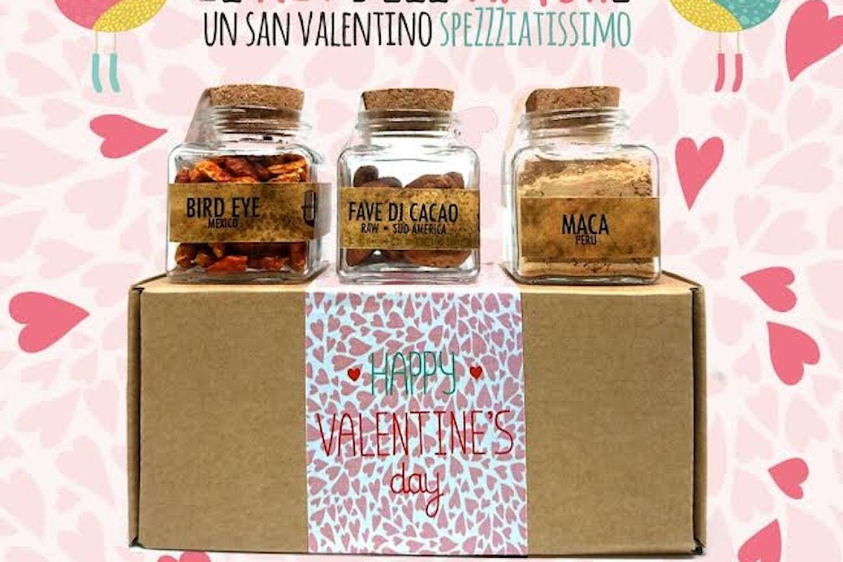 Spezie e scintille d'amore e di buonumore da CHICCHI E BACCELLI a Napoli con il kit dedicato a chia ha voglia di innamorarsi