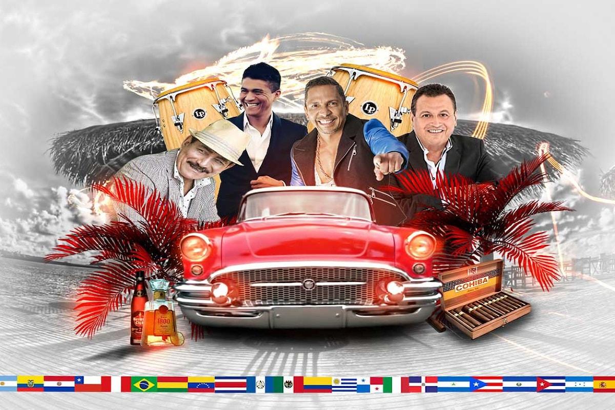 Il 18 giugno all'Assago Summer Arena il non stop Latin Day Music