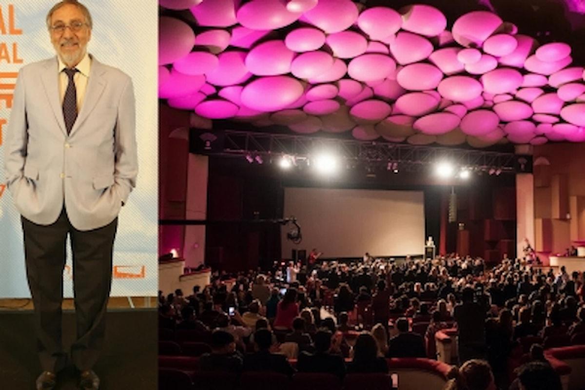 L'attore argentino Luis Brandoni alla 32ª edizione del Festival Internacional de Cine de Mar del Plata 2017