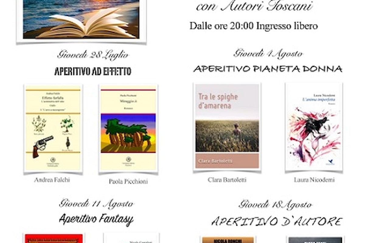 Un libro al tramonto - rassegna letteraria a Viareggio