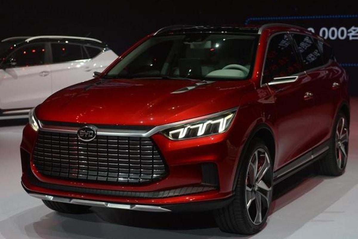 SUV ibrido plug-in cinese! Arriva BYD Dynasty!