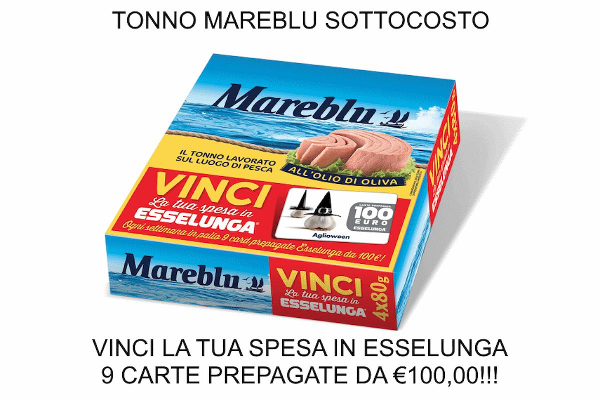 Sfrutta il sottocosto Esselunga sul tonno Mareblu e partecipa al concorso Vinci la tua spesa in Esselunga