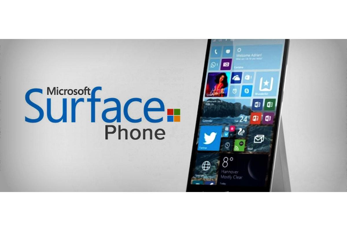 Surface Phone con 8GB RAM e processore Snapdragon 830 | Surface Phone Italia
