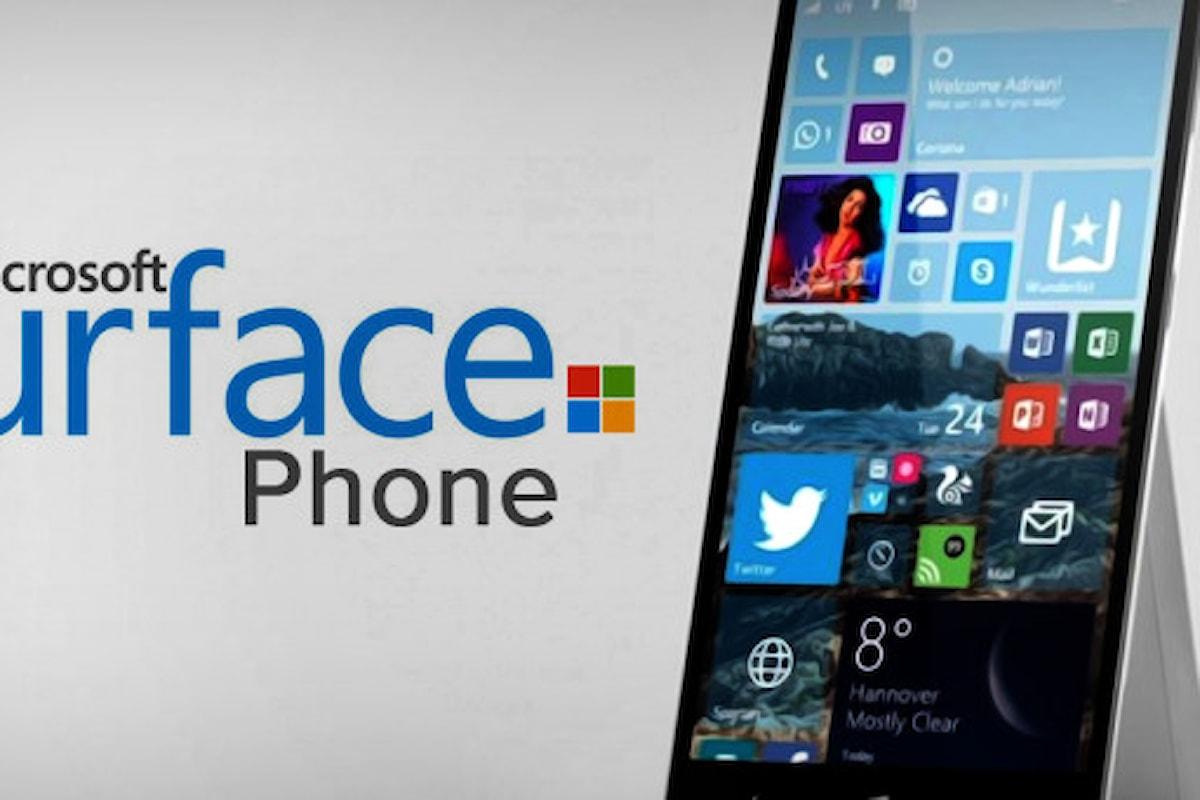 Surface Phone con 8GB RAM e processore Snapdragon 830   Surface Phone Italia