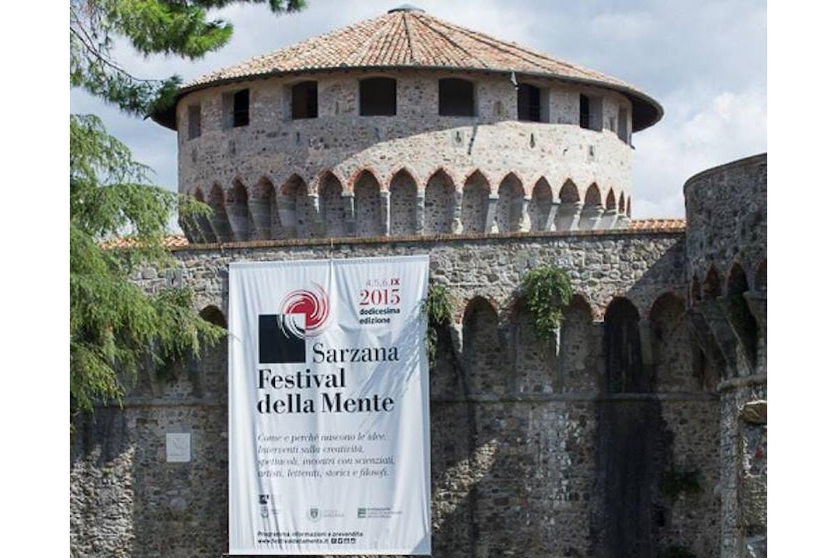 A Sarzana la 14esima edizione del Festival della Mente dall'1 al 3 settembre