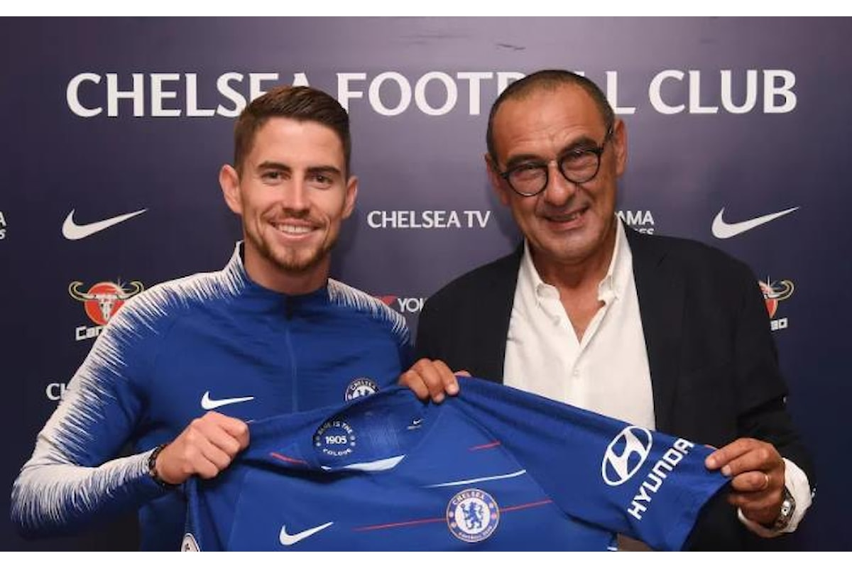 Maurizio Sarri e Jorginho ufficialmente presentati dal Chelsea