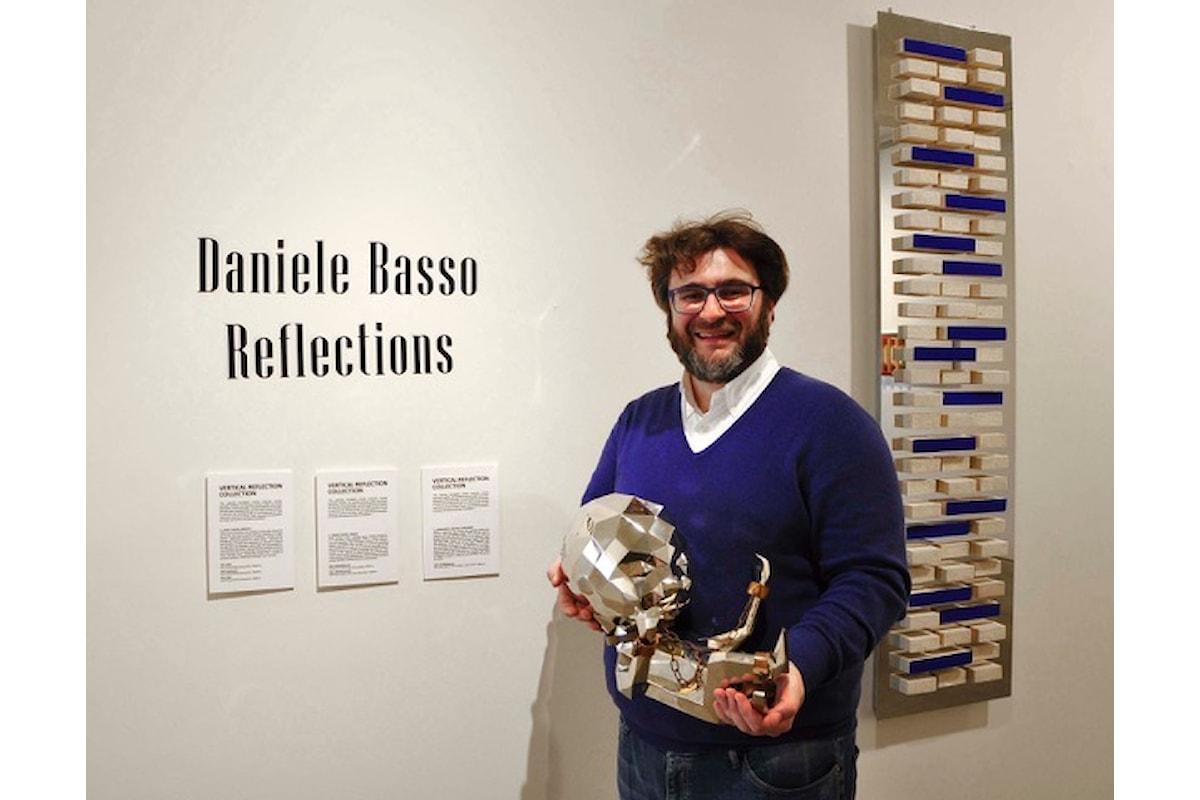 Mostra Personale Daniele Basso a cura di Ermanno Tedeschi alla Galleria Ferrero di Ivrea.