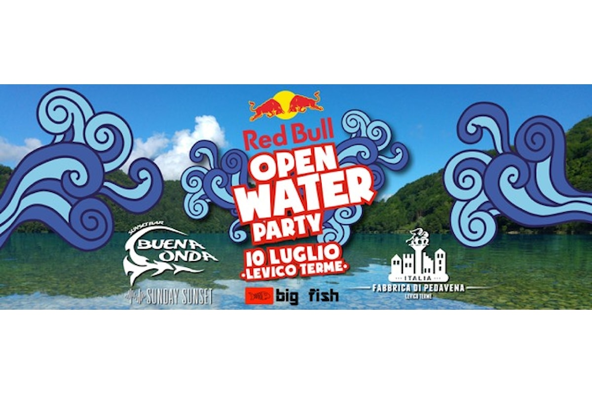 10/7 Red Bull Open Water Party al Lago di Levico (TN)