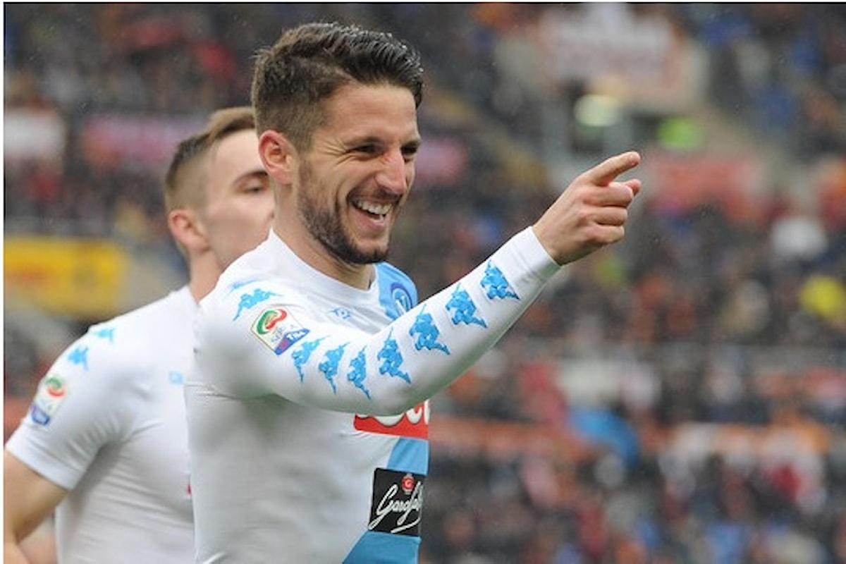 Il Napoli sbanca l'Olimpico, lotta per l'Europa League