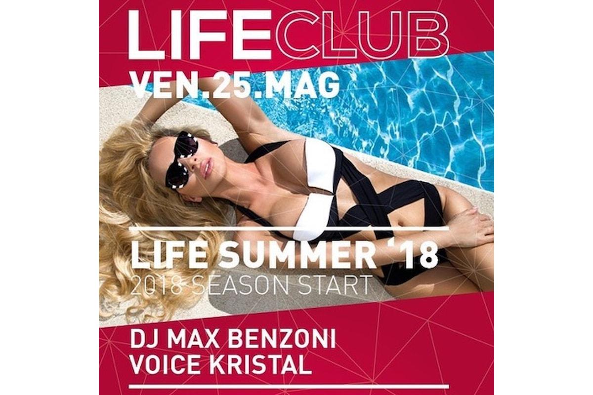 LifeClub Season Start - Rovetta (BG): l'estate inizia il 25 maggio 2018