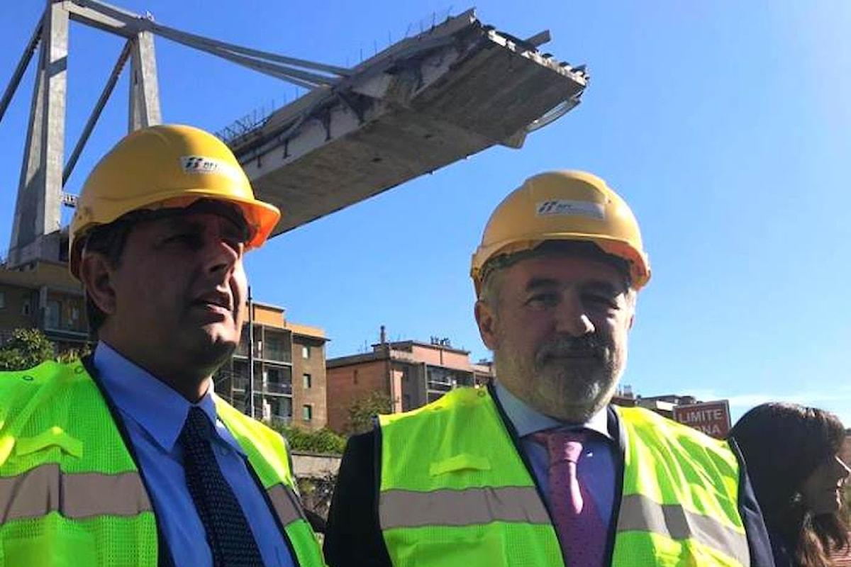 Sarà il sindaco di Genova Bucci il commissario che dovrà risolvere la crisi del capoluogo ligure dopo il crollo del ponte Morandi