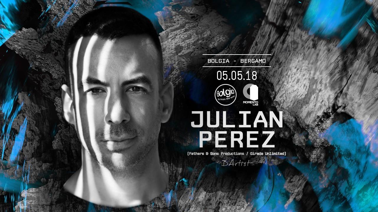 5 maggio, Julian Perez al Bolgia di Bergamo