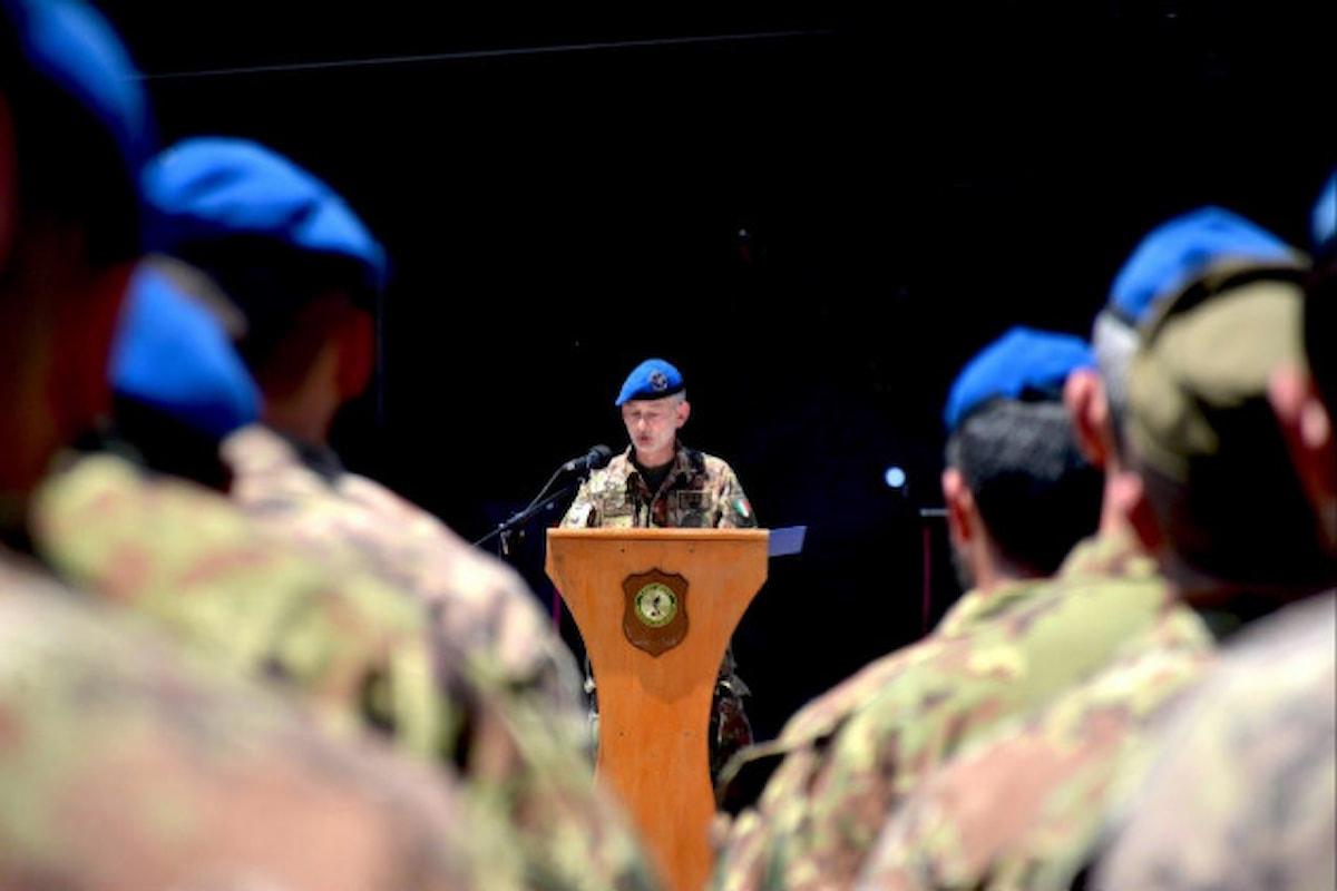 Afghanistan: militari italiani celebrano 10° anniversario fondazione Task Force Fenice