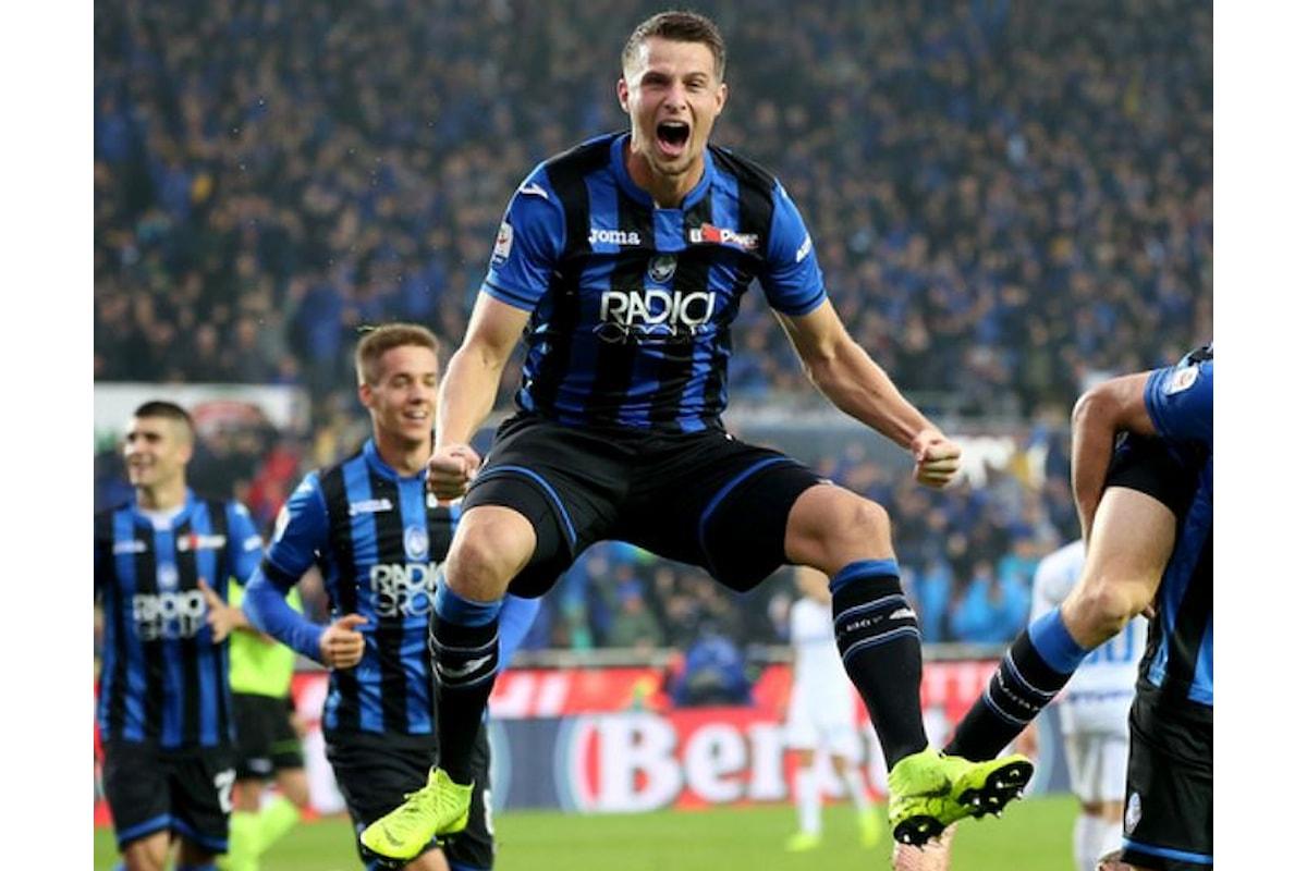 Serie A, l'Atalanta ne fa quattro all'Inter, interrompendone la serie di sette vittorie di fila